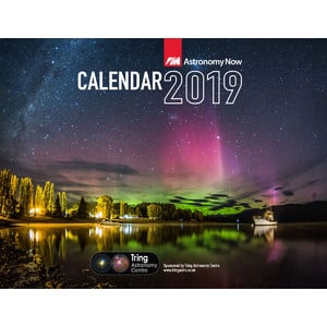 Astronomy Now Almanac Yearbook 2019 with Calender