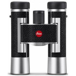Jumelles Leica Ultravid 10x25 leather, silver