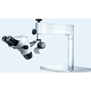 Olympus Stativo sbalzani Schwenkarm-Stativ m. Gasdruckfeder,  Standsäule 250 mm, 2-4.5kg, STX-360/5-TI-2
