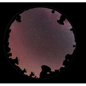 astrial Dia für das Sega Homestar Planetarium Der Himmel über La Silla Scenic