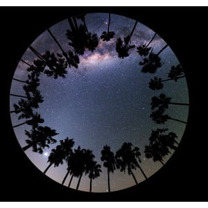 astrial Dia für das Sega Homestar Planetarium Der Himmel über Paranal Scenic
