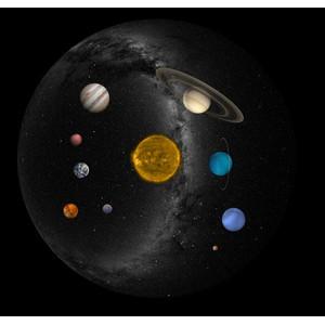 astrial Diapositiva para planetario Sega Homestar Pro, Sistema Solar