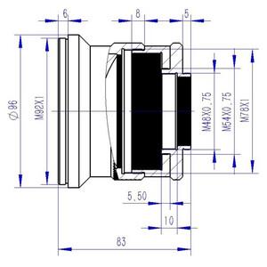 TS Optics Flattener 1.0x M92