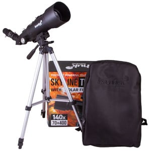 Levenhuk Telescopio AC 70/400 Skyline Travel SUN AZ