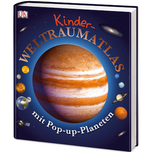 Dorling Kindersley Kinder-Weltraumatlas mit Pop-up-Planeten