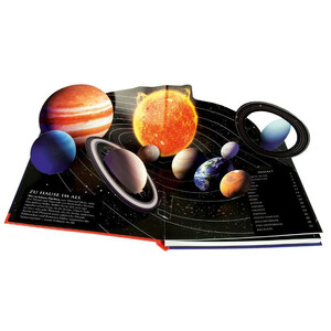 Dorling Kindersley Kinder-Weltraumatlas mit Pop-up-Planeten