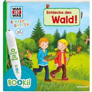 Tessloff-Verlag BOOKii WAS IST WAS Kindergarten Starter-Set Entdecke den Wald!