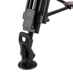 Omegon Treppiede in alluminio Basic 300 V con testa orientabile