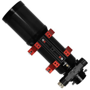 Omegon Refractor apocromático Pro APO AP 80/500 Triplet OTA de fibra de carbono de