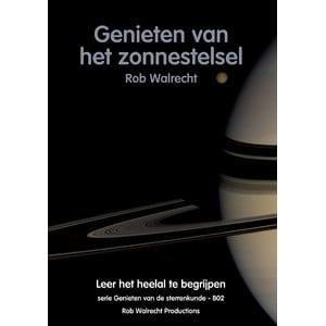 Rob Walrecht Boek Genieten van het zonnestelsel