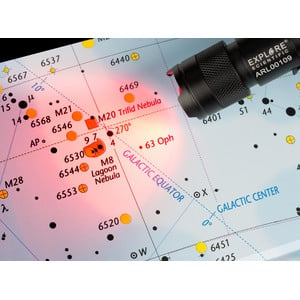 Explore Scientific Torcia per uso astronomico Astro R-Lite