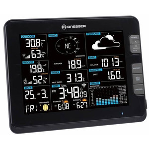 Bresser Wireless Stazione Meteo Professional weather center 6in1 W-Lan black