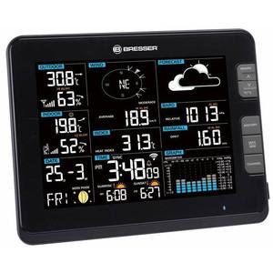 Station météo sans fil Bresser Professional weather center 6in1 W-Lan black