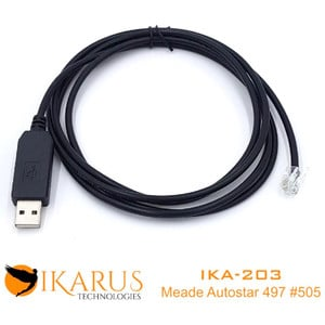 Ikarus Technologies Mount USB Cable (Meade Audiostar Compatible)