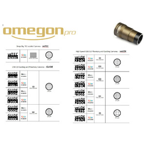Omegon Fotocamera GUIDE 2000C Color