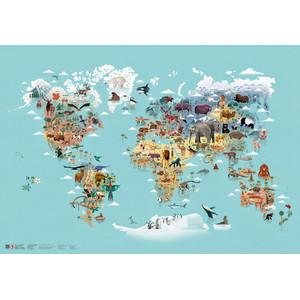 Marmota Maps Weltkarte Die Welt der Tiere
