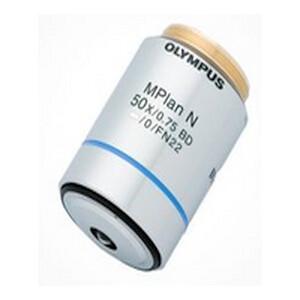 Obiettivo Olympus MPLN50XBD M, BF, DF, Plan, Achro, Auf-Durchlicht, 10x/0.75 wd 0.38mm