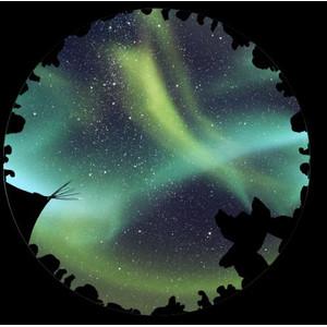 astrial Dia für das Sega Homestar Planetarium Aurora Australis Scenic