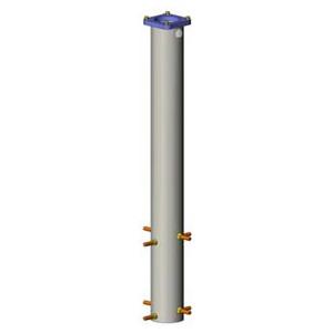 euro EMC Colonna Säule 1000mm zum einbetonnieren S130