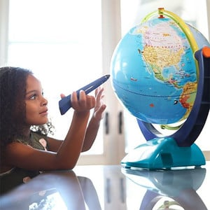 Learning Resources Globo per Bambini GeoSafari Jr. Talking Globe 30cm