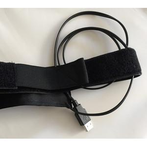 Lunatico Fascia anticondensa ZeroDew 50mm finder heating band  - USB