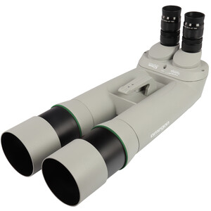 Omegon Binocolo Brightsky 26x82 90° binoculars including Neptune fork mount with centre column and tripod