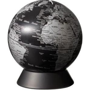 emform Globe Spardose Orion Matt Black 14cm
