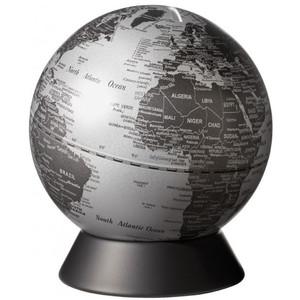 emform Globe Spardose Orion Matt Silver 14cm
