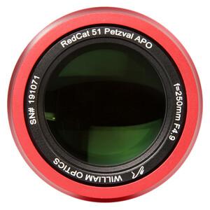 William Optics Refrator apocromático AP 51/250 RedCat 51 OTA