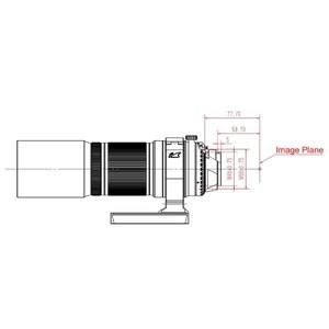 William Optics Refractor acromat AP 51/250 RedCat 51 OTA