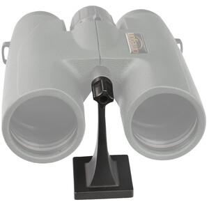 Omegon Metal binoculars tripod adapter, Porro version