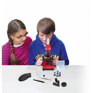 Bresser Junior Microscopio Biolux SEL rojo