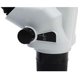 Optika Microscopio stereo zoom SZO-1, bino, 6.7-45x, Säulenstativ, ohne Beleuchtung