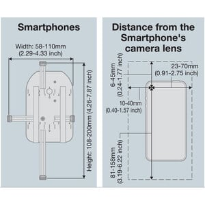 Vixen Adattatore smartphone Universal