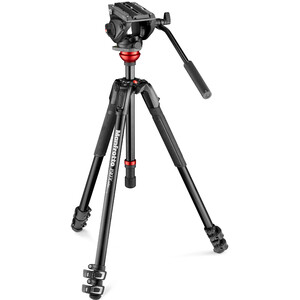 Manfrotto Treppiede Aluminio MVH500AH,190X Alu Video Kit