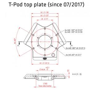 Avalon Tripod T-Pod 130