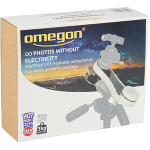 Omegon Montatura Mini Track LX3 SET