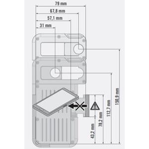 Swarovski Adattatore smartphone Set VPA-Adaptor with AR-S Adaptor ring for ATX/STX