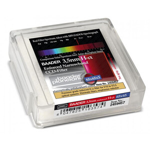 Baader Ultra-Narrowband 3.5nm H-alpha CCD-Filter 65x65mm