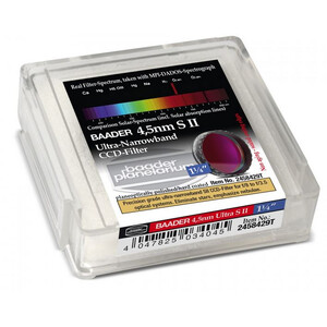 Baader Filtro Ultra-Narrowband 4.5nm S II CCD-Filter 1,25""