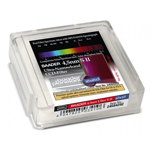 Baader Filtro Ultra-Narrowband 4.5nm S II CCD-Filter 65x65mm