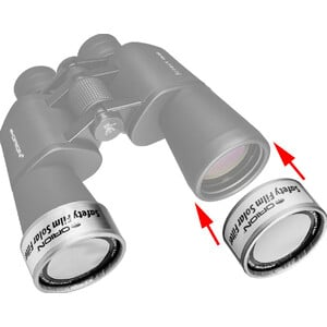 """Filtres solaires Orion 2.54"""" ID E-Series"""