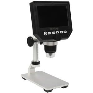 Omegon Microscope DigiStar, 1x-600x, LCD 4,3'' d'