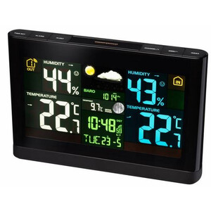 Bresser wireless with colour display