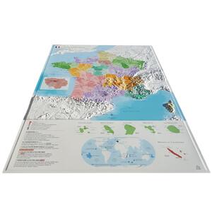 Carte magnétique 3Dmap La France Administrative