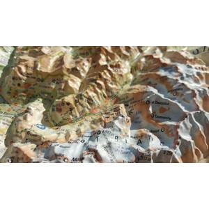 Carte magnétique 3Dmap La Haute Savoie