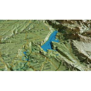 Carte magnétique 3Dmap Le Verdon