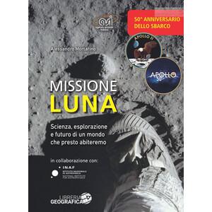 Libreria Geografica Libro Missione Luna