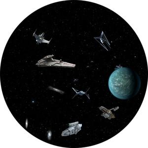 Redmark Diapositiva per planetari Bresser e NG con Guerre Stellari