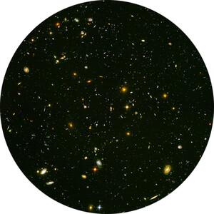 Redmark Diapositiva per planetari Bresser e NG con il campo ultra-profondo (Ultra Deep Field) di Hubble
